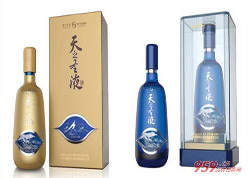 泸州老窖养生酒业天之圣液白酒投资品牌市场前