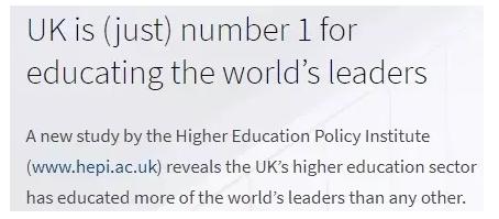 侨外英国投资移民:每7个世界领导人之中就有1人来自英国?